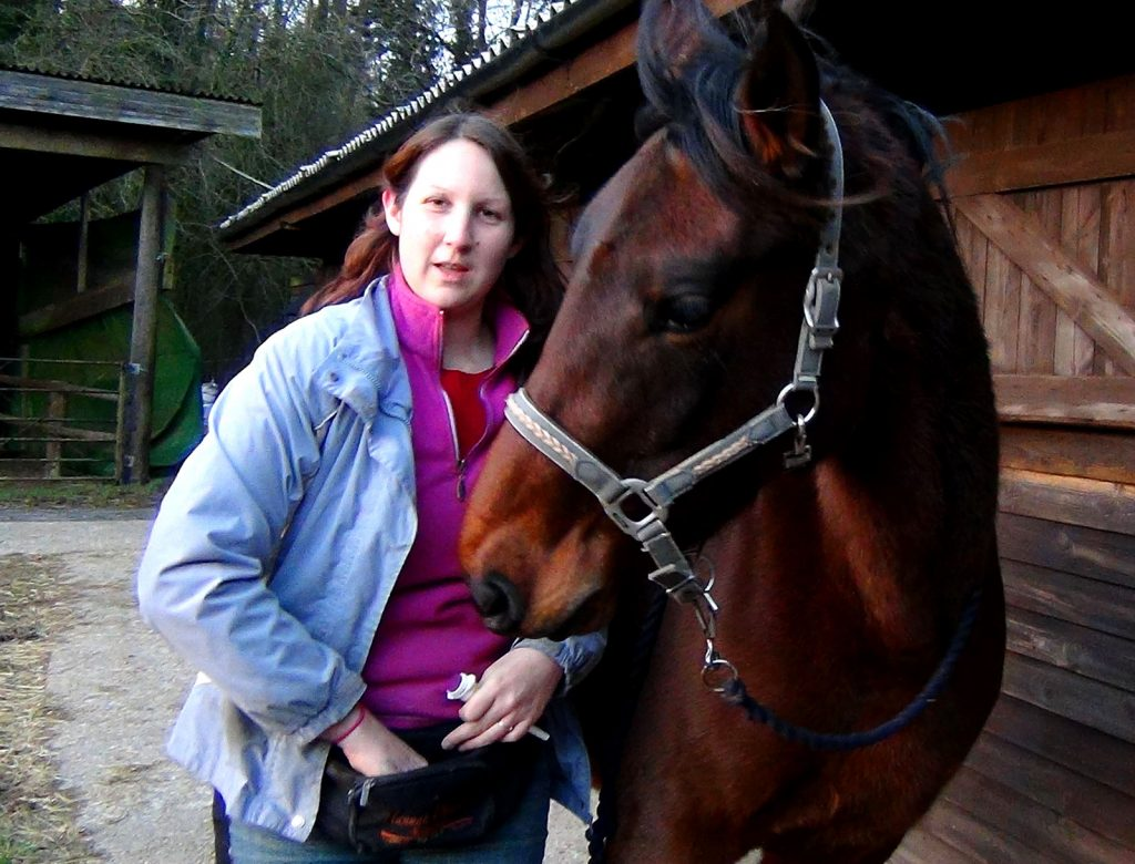 Laura equine reward training